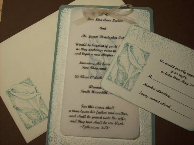 jim lisa wedding invitation ageless adornment