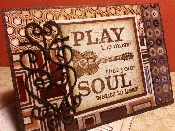 Play the Music card