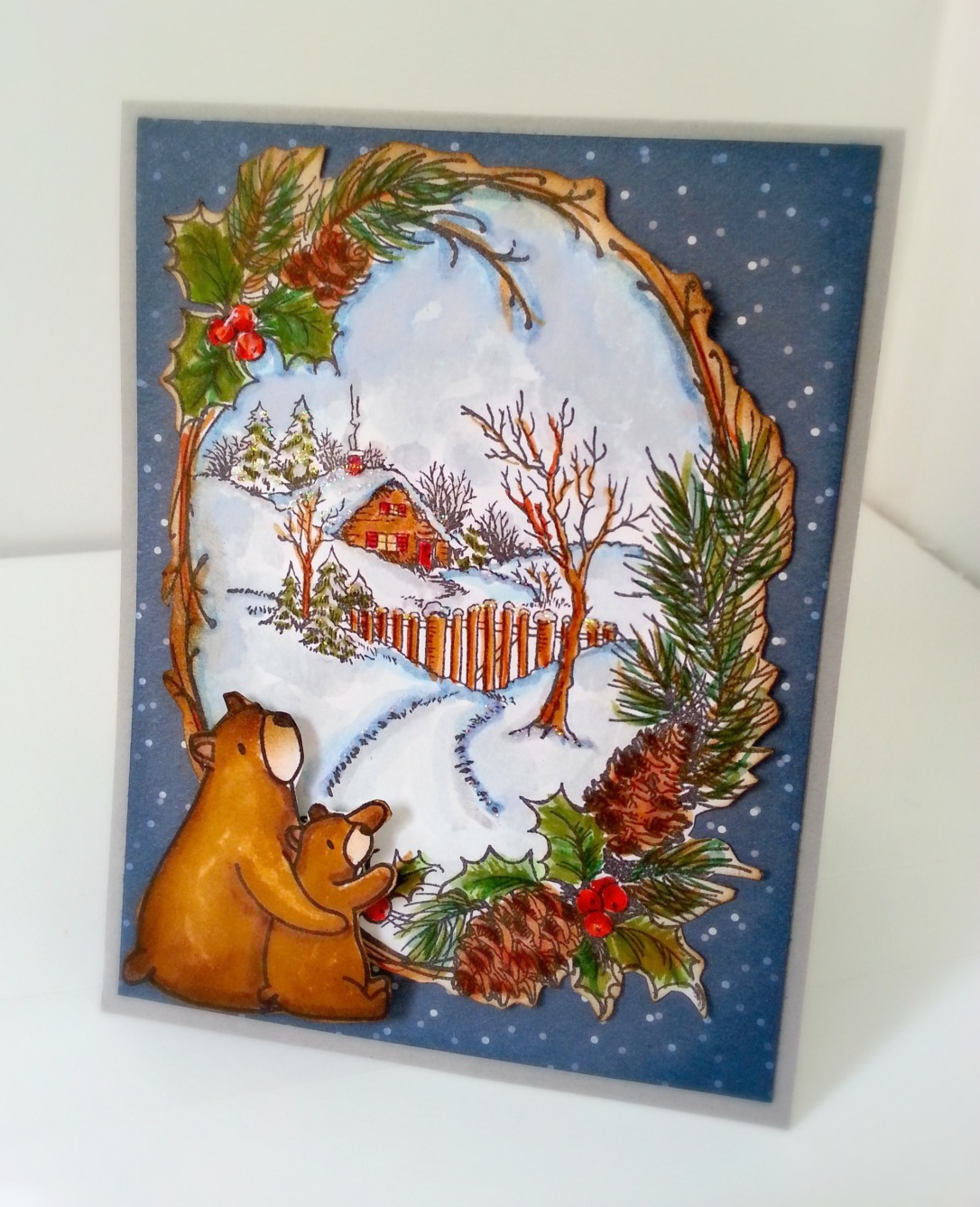 stampendous cmas cottage (1)